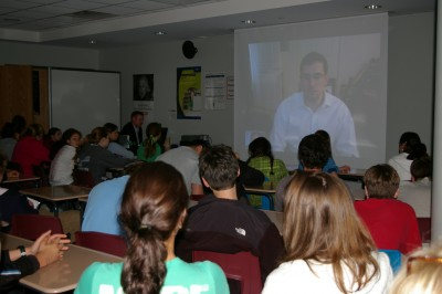 """Behind the Lines: Staples Students and Faculty """"Chat"""" with Author Craig Mullaney"""