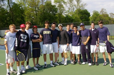 Sports Boys Varsity Tennis Semi-Finals