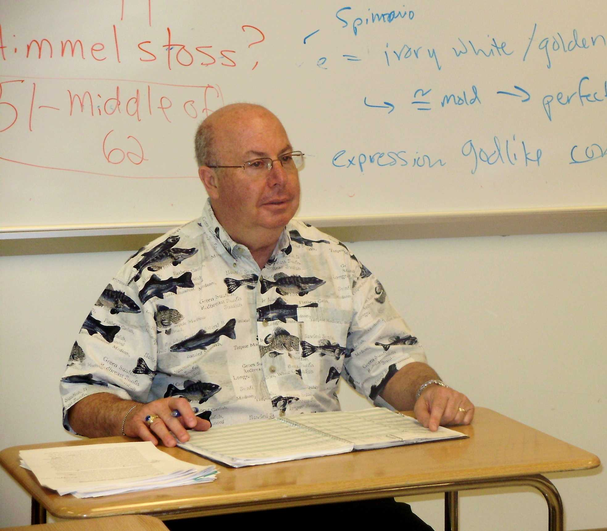 """K"" Calls it Quits: Gerald Kuroghlian Retires After 42 Years of Teaching"