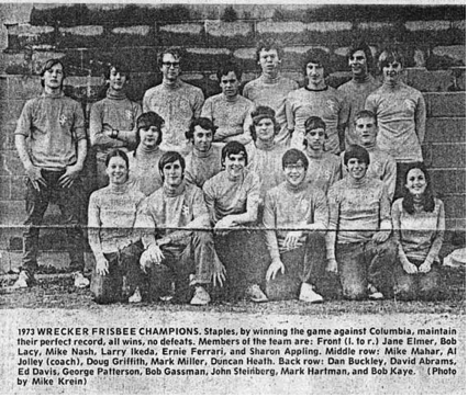 ultimate frisbee history present future essay I recently met concordia's ultimate frisbee team in the dome on the loyola  campus during one of their practices, and ever since then i'm convinced that  ultimate frisbee is the utopian  it all stems from ultimate frisbee's history.