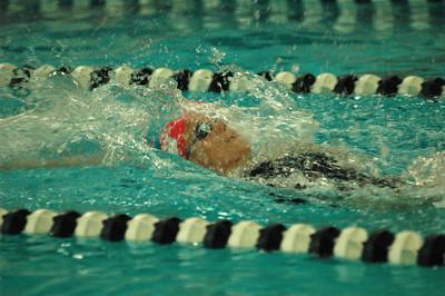 Neuhaus '10 Breaks Swim Record