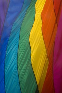 The rainbow flag has been used as a sybol for gay rights. | Photo from www.sxc.hu