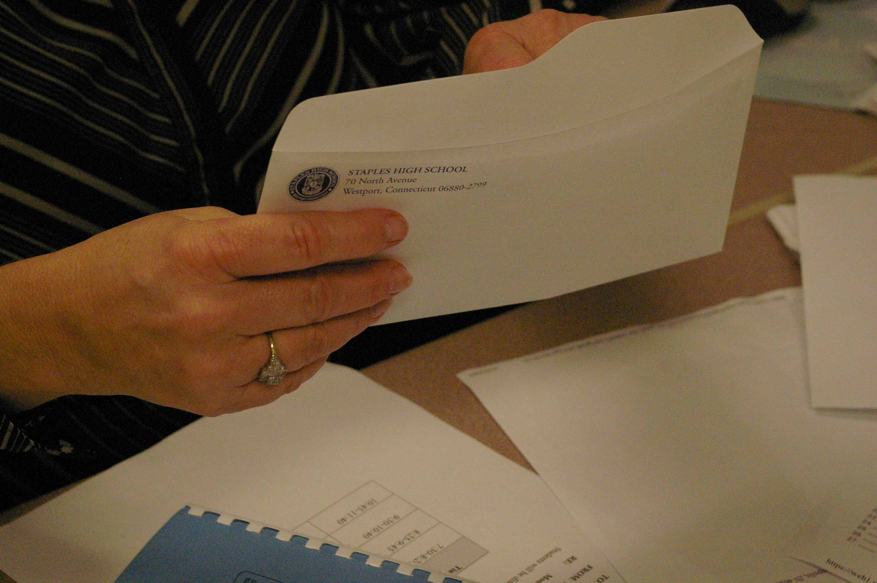 Guidance Stresses Importance of First Quarter Grades for Seniors