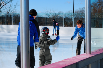 Gliding on the Ice: New Ice Skating Rink Opens at Longshore