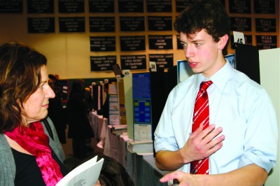 Students Showcase Projects in Statewide Science Fair