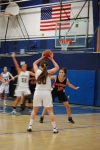 Girls' Basketball Falls Short in Battle of FCIAC Power