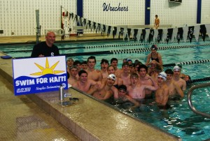 Westport Swimmers Dive in for Haitian Relief Effort