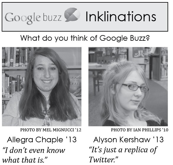 "New ""Google Buzz"" Hits Staples High"