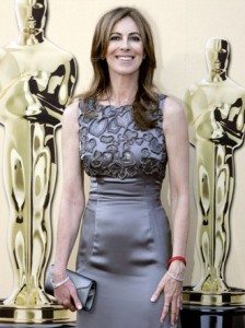 Award-winning director Kathryn Bigelow poses on the red carpet| Photo by www.oscar.go.com
