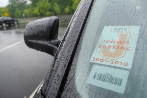 Free Parking: Administation Issues Parking Permits to Juniors