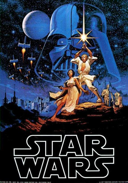 Star Wars movie poster | Photo by www.httpartist.com