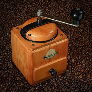 Antique coffee grinder by Zassenhaus