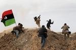 RAS LANUF, LIBYA - MARCH 10:   Photojournalist...