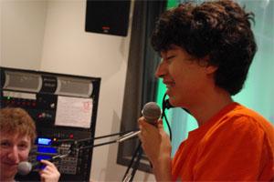 Sept. 22, 2011  | Boy Talk on the Radio