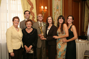 Westporter Receives Nobel Posthumously