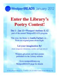 Westport Public Library Invites Students to Write