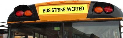 Bus Drivers' Strike Averted