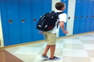 A Freshman's Guide to Walking in the Hallways