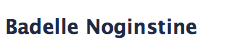 One of the many senior names