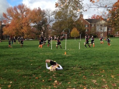 Oct. 20, 2012 | Quidditch on the Quad