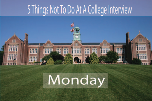 The Most Stupid College Interview Responses: The Badly Concealed Lyric