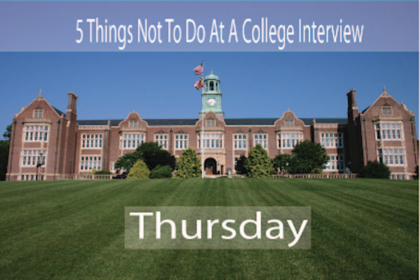 The Most Stupid College Interview Responses: The Fabricated Inspirational Story