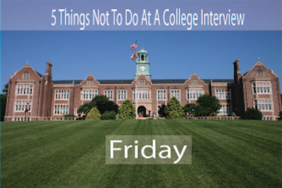 The Most Stupid College Interview Responses: The College Obsession