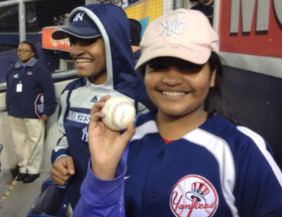 Vig Namisivayam '16 Takes Home MLB Home Run Ball