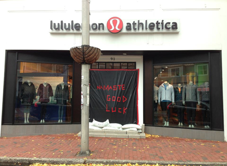 Even athletic stores are locked up—all the more reason to take the initiative to work out at home.