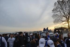 Nov. 15, 2012   Seniors Gather for Motorcade