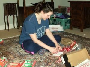 Dec. 16, 2012 | Making Candygrams