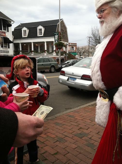 Dec. 9, 2012 | Santa Claus is Coming Downtown