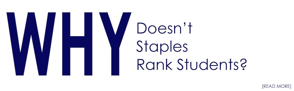 Why Doesn't Staples Rank Students?