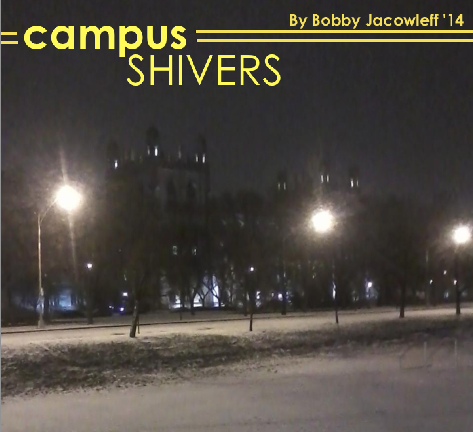 At the University of Chicago, it has dropped to lows of -14˚F.