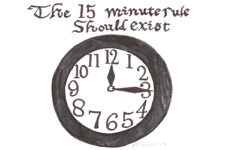 Why The 15 Minute Rule Should Exist