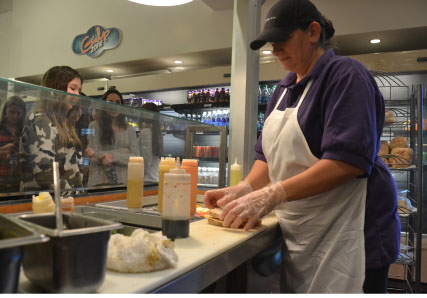 Sandwiches and Smiles: An Inside Look at Staples' Beloved Cafeteria Chef