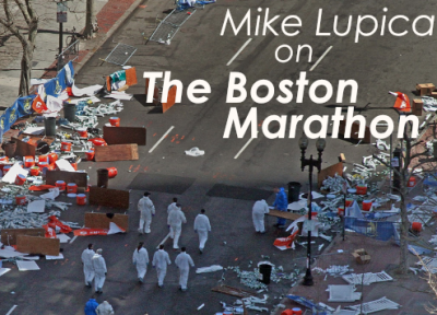 Author Mike Lupica Reflects on the Boston Marathon Bombing