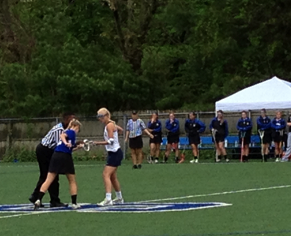 Glastonbury Beats Staples Girls Lacrosse 15-11
