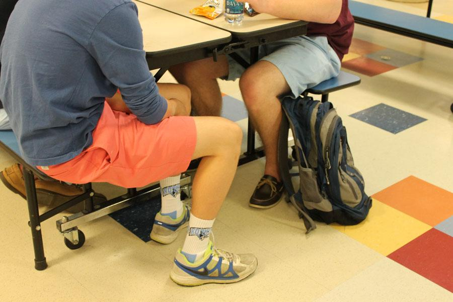 Senior+boys+dress+up+in+their+colorful+shorts+