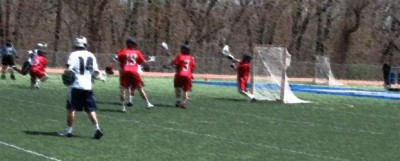 Staples Lacrosse Wrecks the Rams