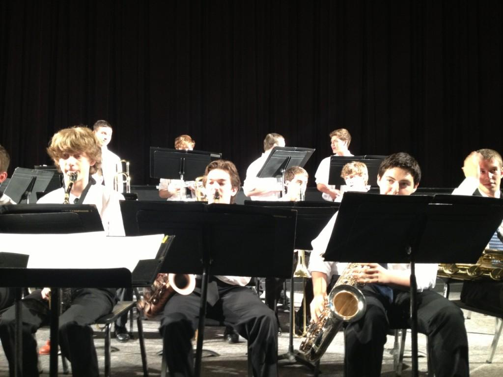 Staples and Bedford Jazz Bands Join For a Special Concert