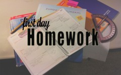 First Day Homework: Don't Drop Yet