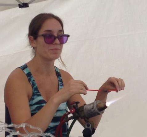 Blown Away: A glass blower demonstrates how to create a lobster ornament.