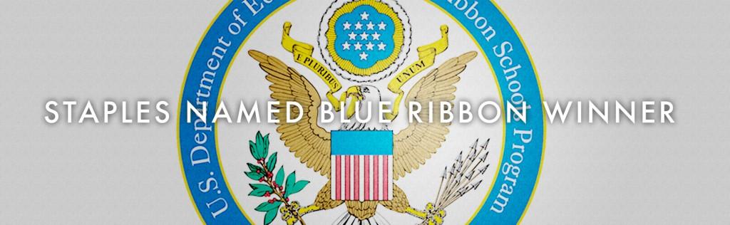 Staples Wins 2013 Blue Ribbon Award