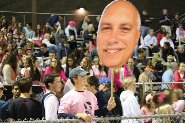 Staples triumphs for the Pink-Out