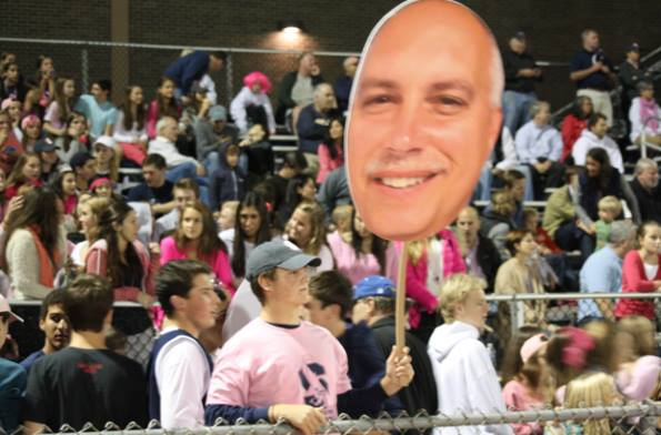 Fatheads Storm the Stands