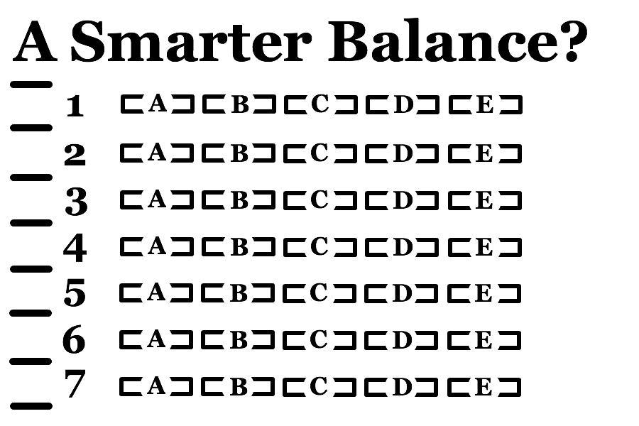 A Smarter Balance?