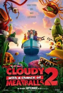 """""""Cloudy With a Chance of Meatballs 2"""" showers down success in theaters"""