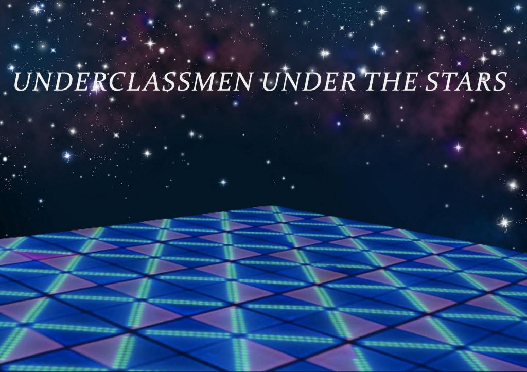 Underclassmen+under+the+stars