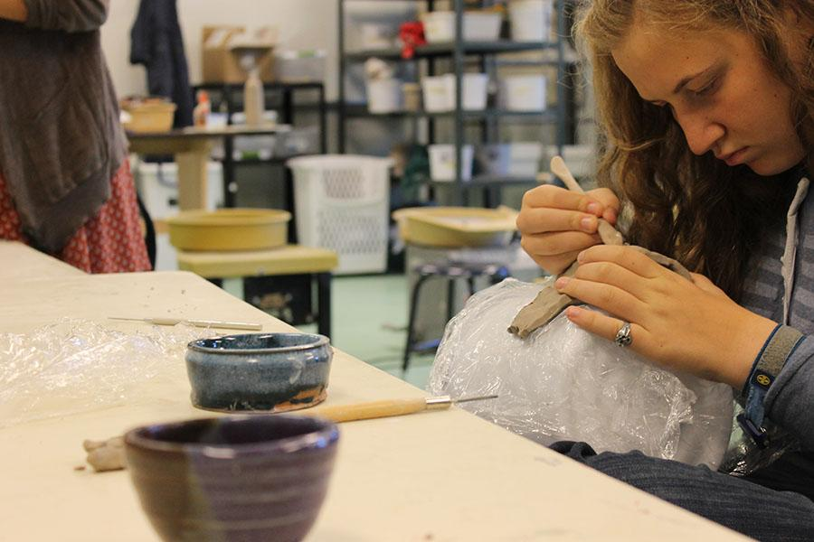 New AP Art Class Adds Color to the AP Courses